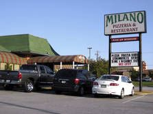 MILANO...love the food in this small, humble, family owned restaurant in Simpsonville...it's an Italian/Greek Restaurant.