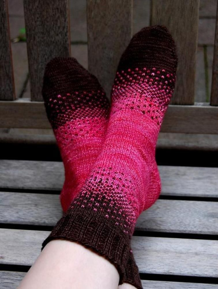 There & Back Again Socks | Craftsy | Sock knitting ...
