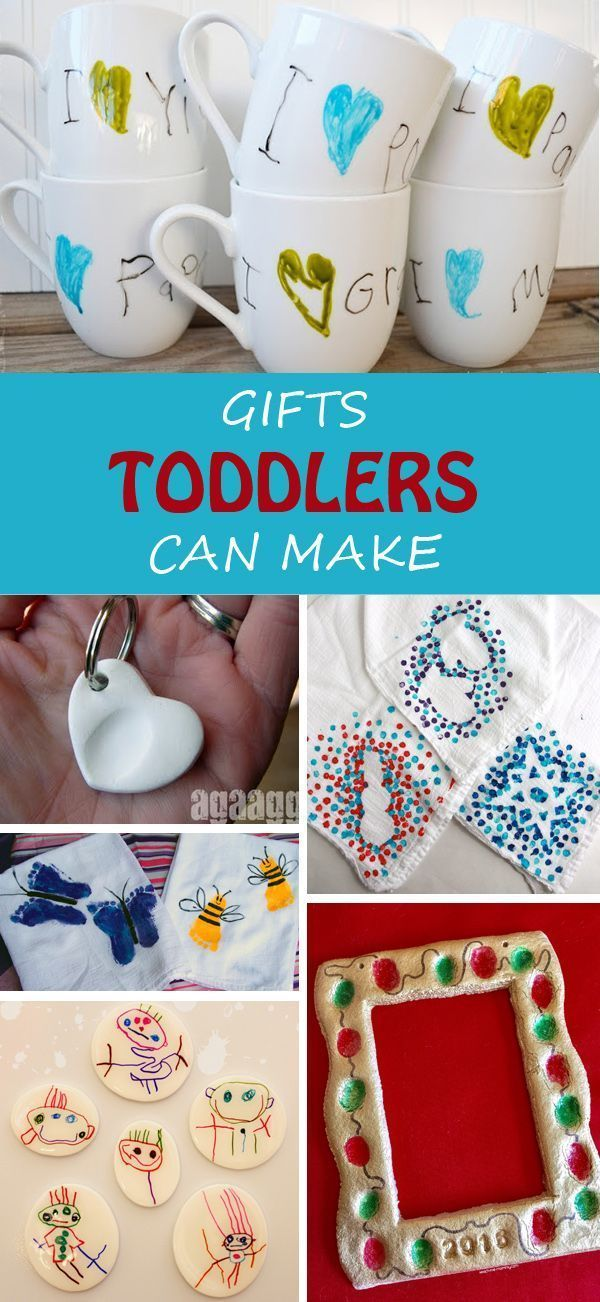 24 Gifts Kids Can Make | Kid-Made Gift Ideas That Adults Will Love #teacherchristmasgiftideas