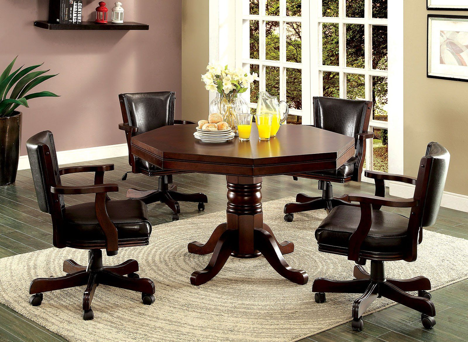 Rowan Traditional Game Table Dining Table Furniture Dining Table Setting