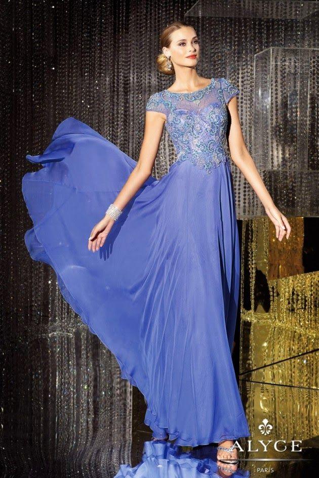 Grandiosos vestidos largos de fiesta | Colección de vestidos de ...