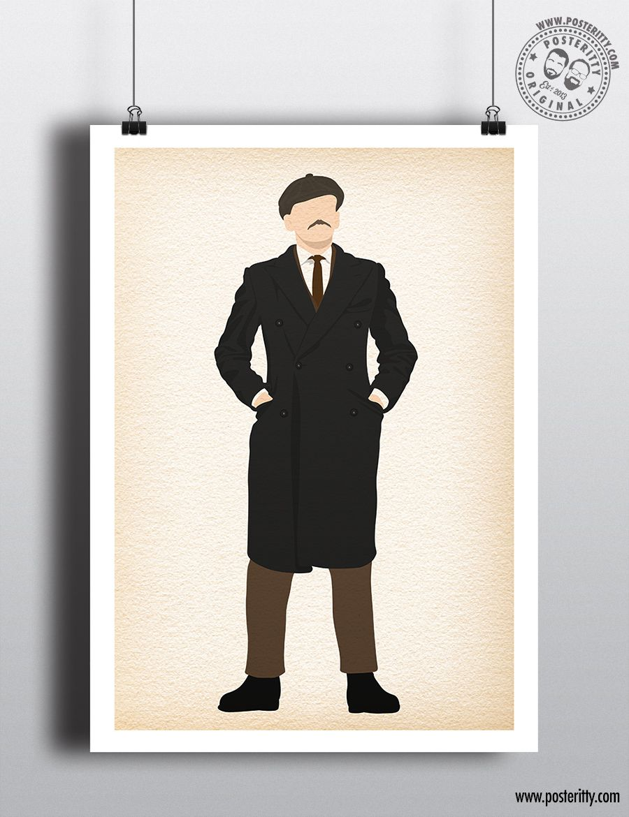 PEAKY BLINDERS Small Heath Shelby Minimalist Poster Posteritty Minimal Print