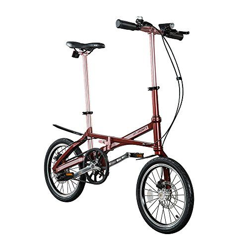 Jauntybike Carbon Fiber Folding Bike Red M Details Can Be Found By Clicking On The Image