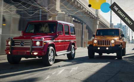 2012 Jeep Wrangler Unlimited Rubicon Vs 2012 Mercedes Benz G550