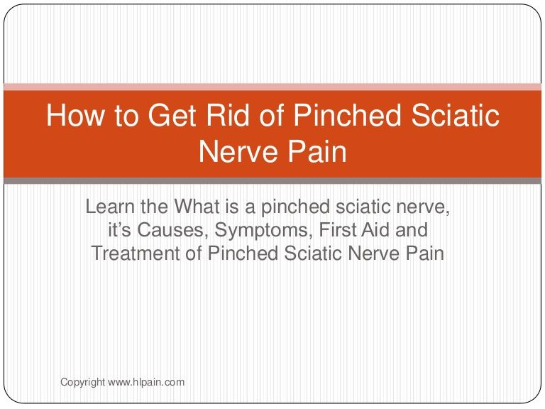 how to get rid of sciatica permanently