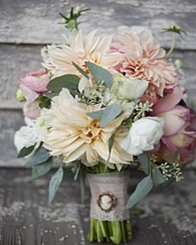 bouquet with brooch