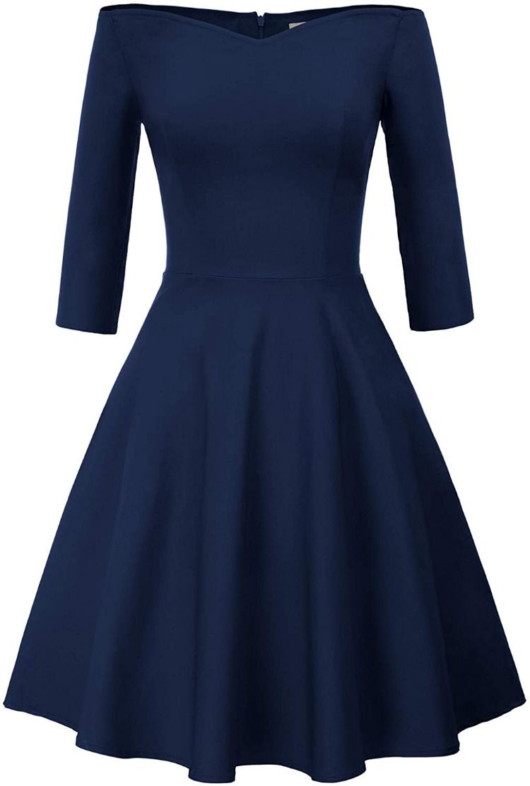 Rockabilly Kleid. GRACE KARIN in 16  Schulterfreies kleid
