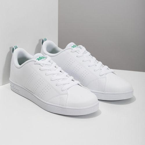 05b0f02942 Adidas Bílé tenisky se zelenými detaily in 2019
