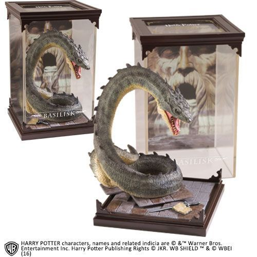 Harry Potter Magical Creatures Statue Basilisk 19 Cm Basilisk Harry Potter Harry Potter Toys Noble Collection Harry Potter