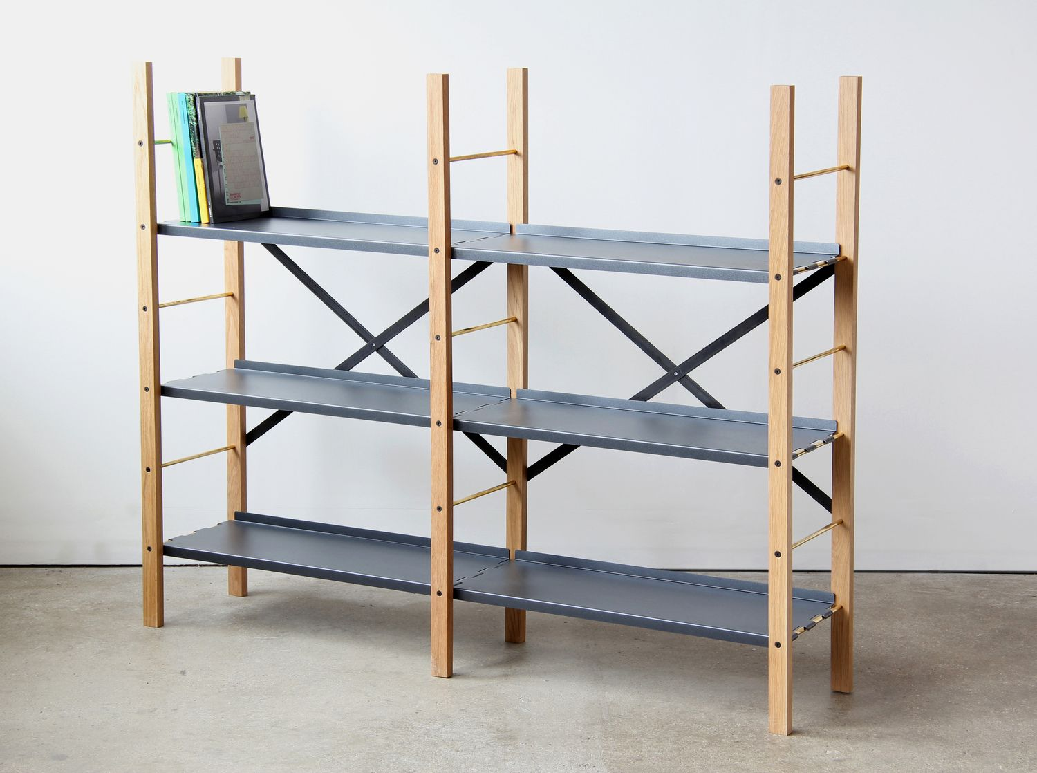 Ikea Libreria A Scala croquet shelving by very good & proper | wooden storage