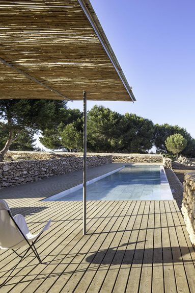 Pool & outdoor lounge, Formentera, 2013
