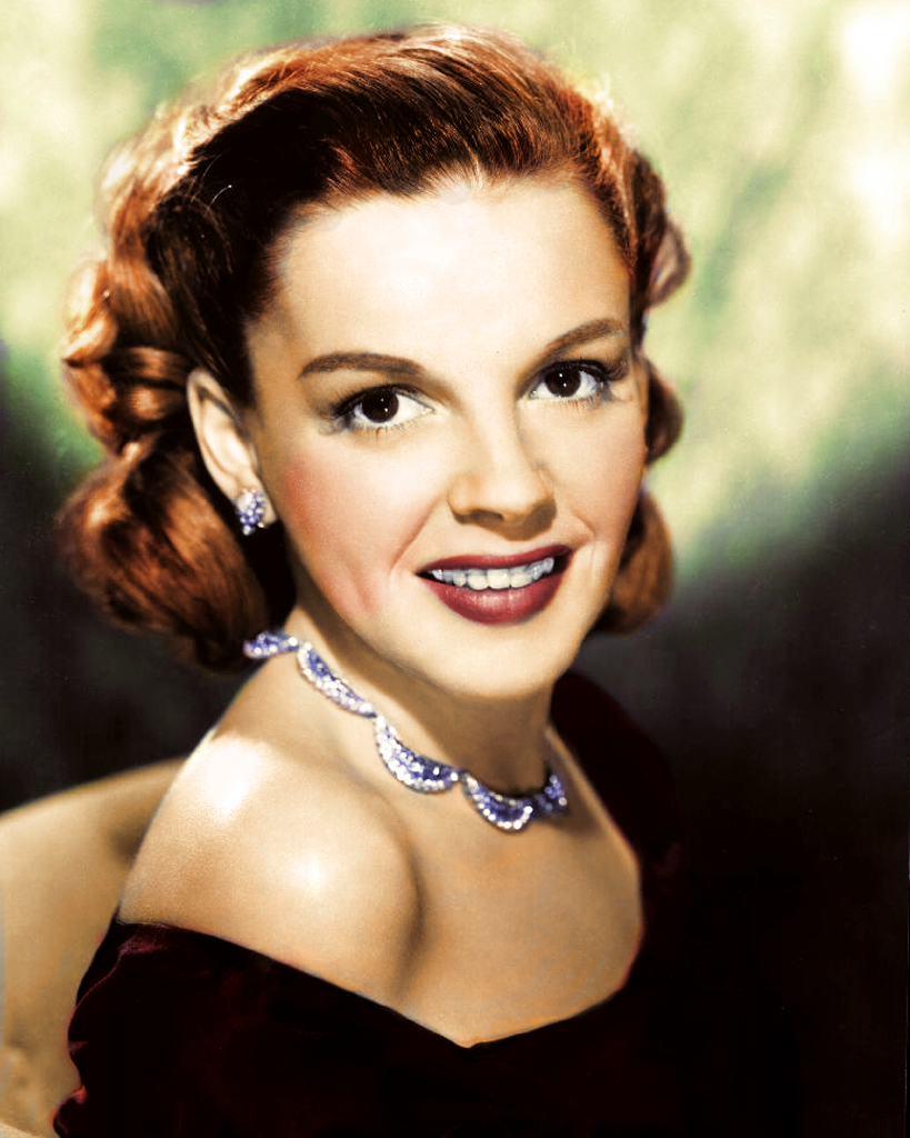 Judy Garland, one of my favorite female singers ever.