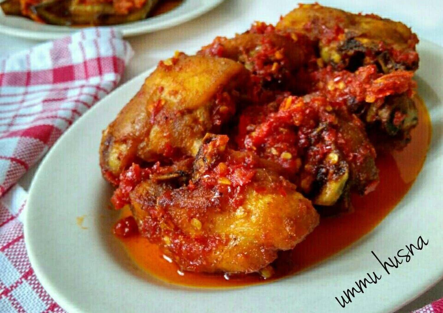 Resep Ayam Goreng Balado Khas Padang Oleh Novi Ummu Husna Resep Resep Ayam Resep Daging Makanan Sehat