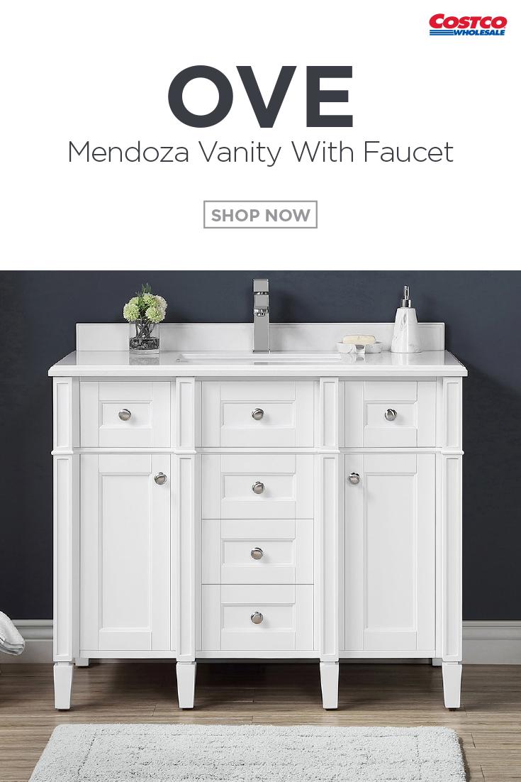 Ove Decors Mendoza 42 Vanity With Faucet Vanity Decor Stone Countertops