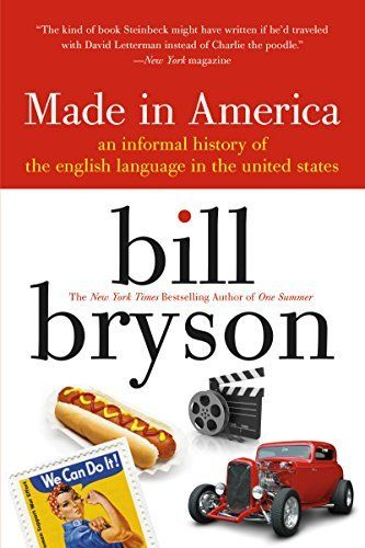 made in america: An Informal History of the English Language in the United States by Bill Bryson, http://smile.amazon.com/dp/B00T3DR544/ref=cm_sw_r_pi_dp_CgeBvb0W62VN1