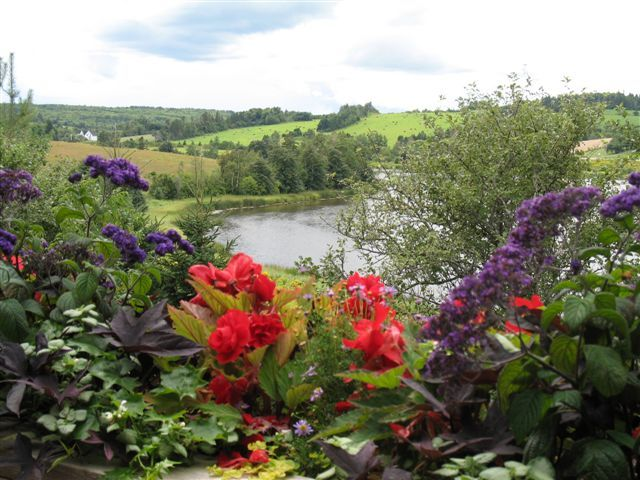 From the Gardens of Hope overlooking River Clyde, New Glasgow, Prince Edward Island.