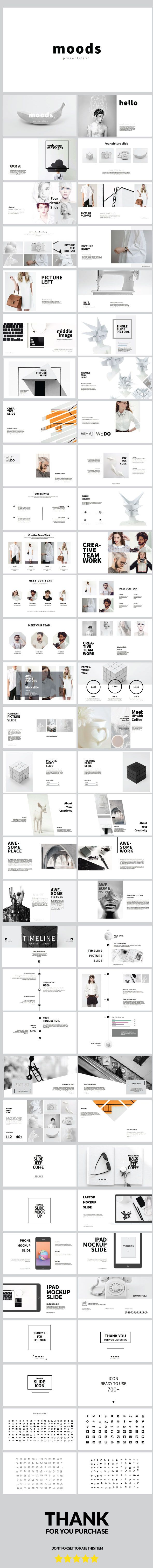 moods multipurpose powerpoint template love a good success story