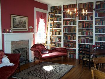 romantic library - what could be better?