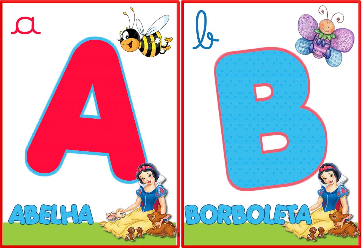 Alfabeto Para Sala De Aula Educa O Infantil Ws05 Ivango