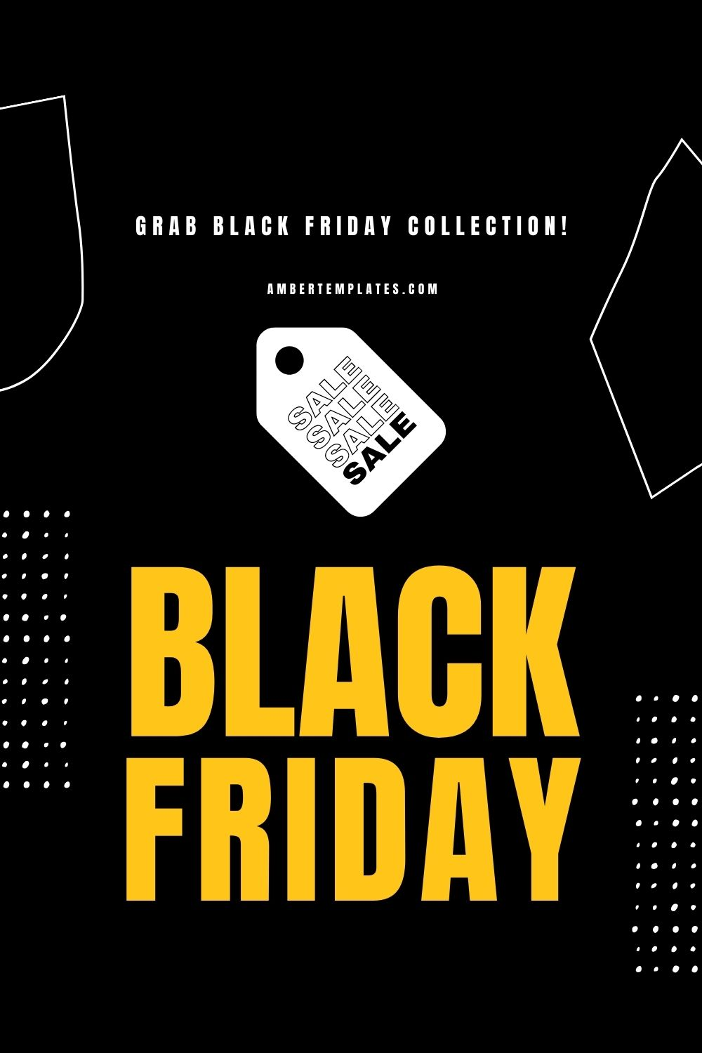 Black Friday Design Ideas Template Collection In 2020 Black Friday Design Black Friday Sale Design Black Friday