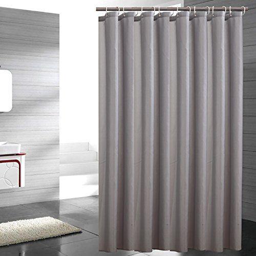 Lonniyl Heavy Weight Fabric Shower Curtain