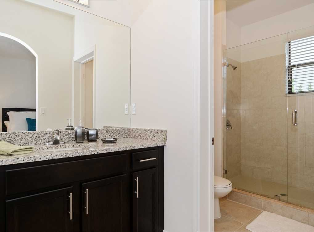 Walk In Showers Are Featured In Master Bathrooms In Select