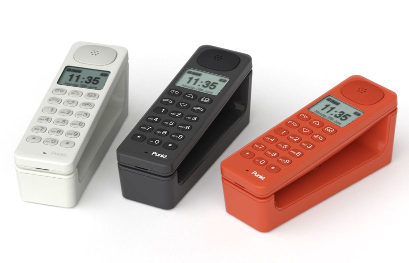 Swiss Brand Punkt Cordless Phone. So Simple, So Clean