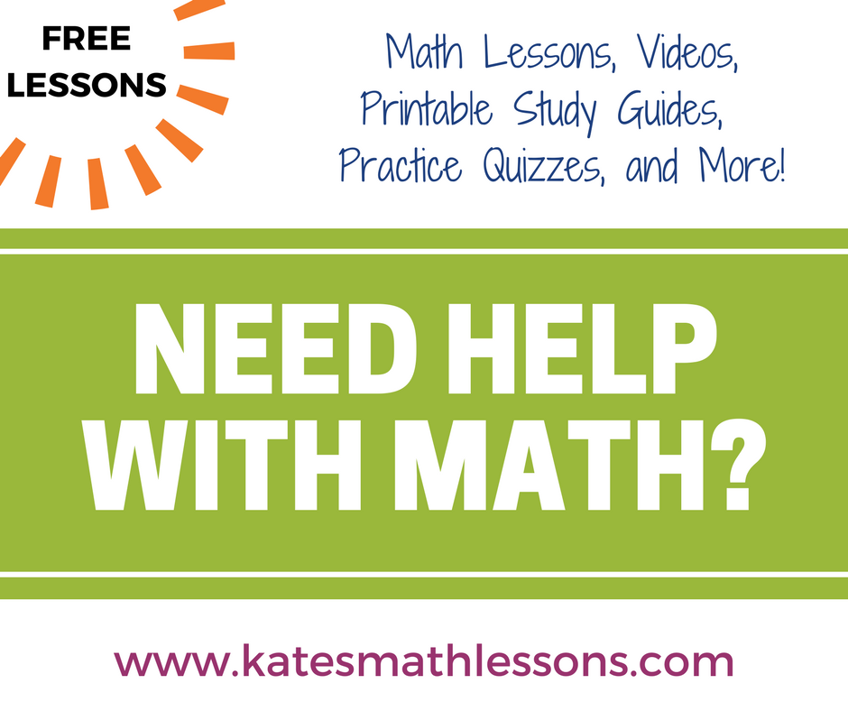 need help on math need help math check out these lessons videos i ...