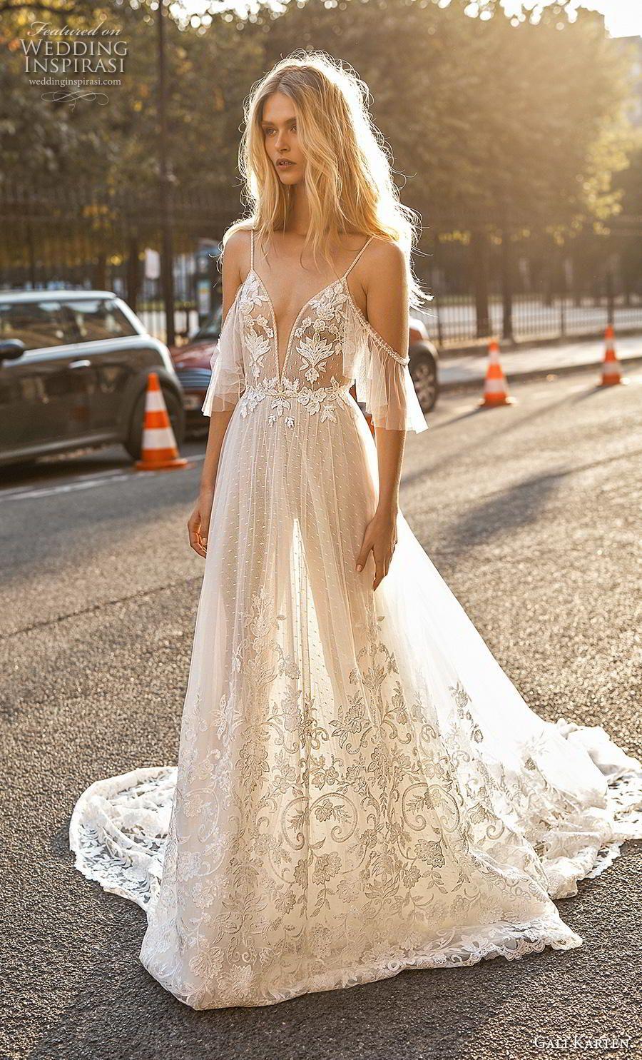 "Gali Karten 2019 Wedding Dresses — ""Paris"" Bridal Collection #bohoweddingdress"