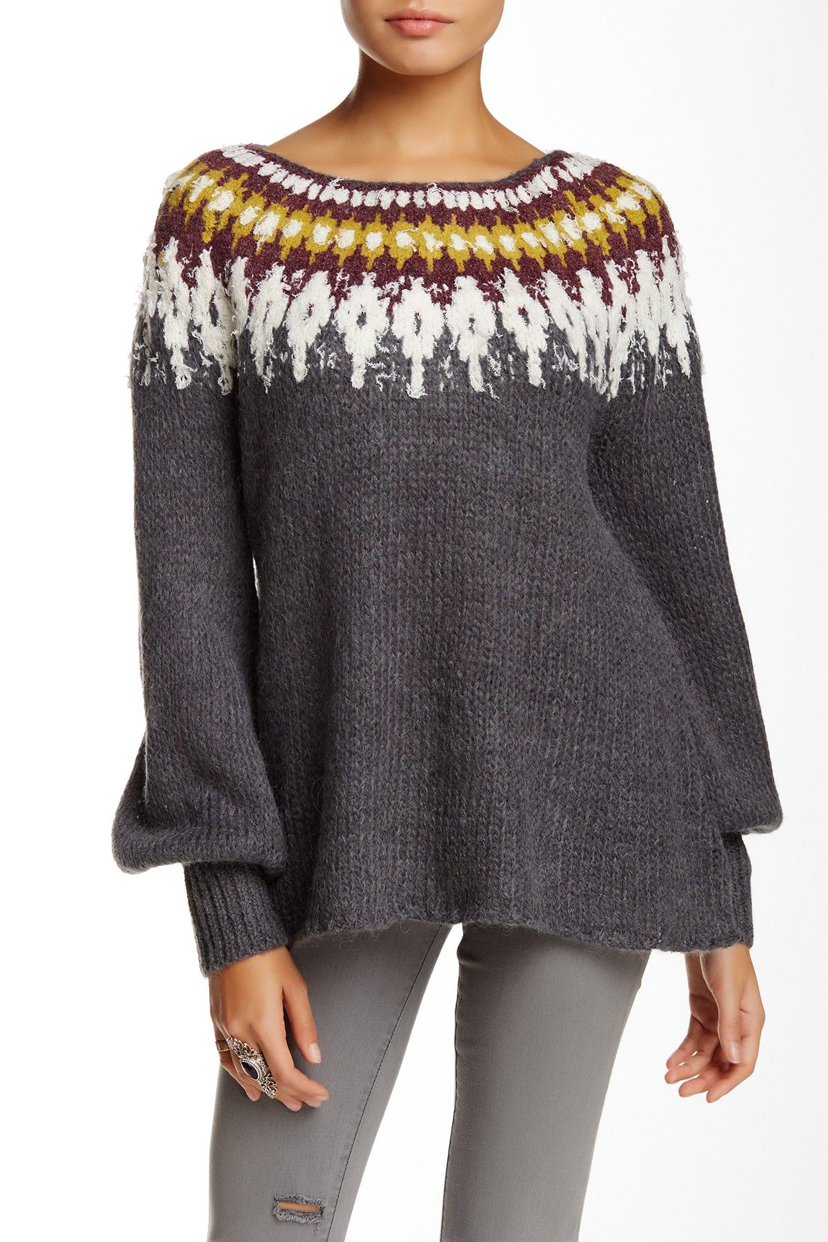 Free People | Baltic Fairisle Sweater | Free people, Nordstrom and ...