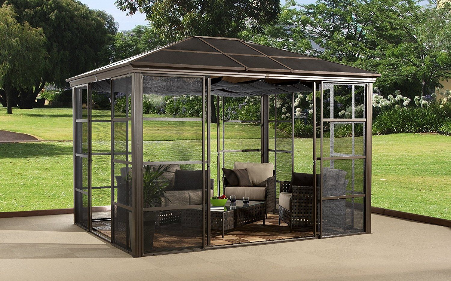 5 Portable Gazebos That Will Protect You With Images Hardtop