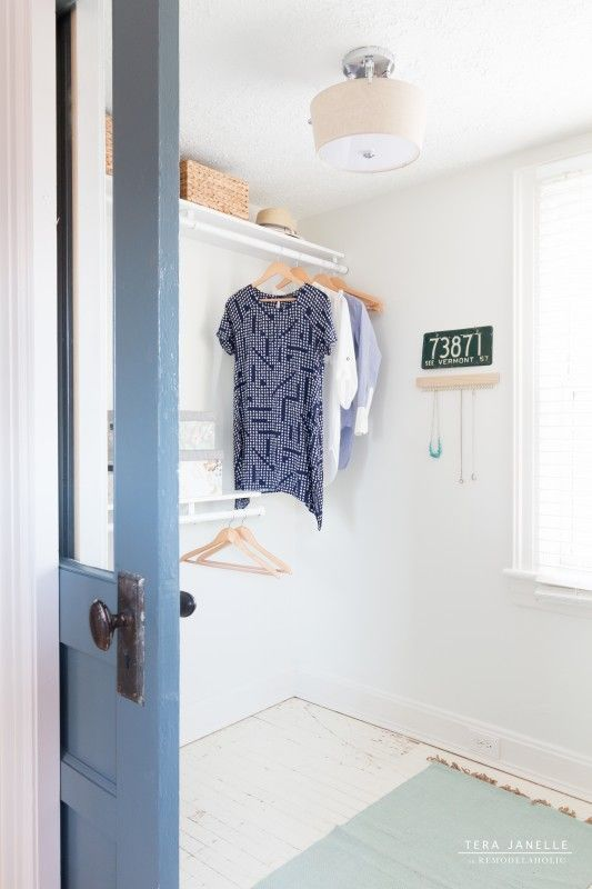 Create A Beautiful Boutique Style Walk In Closet. Cape Cod Walk In Closet  By Tera Janelle On @Remodelaholic