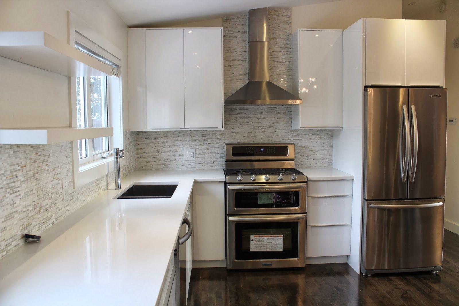 Modern Kitchen Cabinets Ikea ikea abstract white high gloss kitchen. benjamin moore cloud white