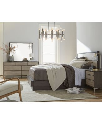 CLOSEOUT! Adler Platform Bedroom Furniture Collection, Created for ...