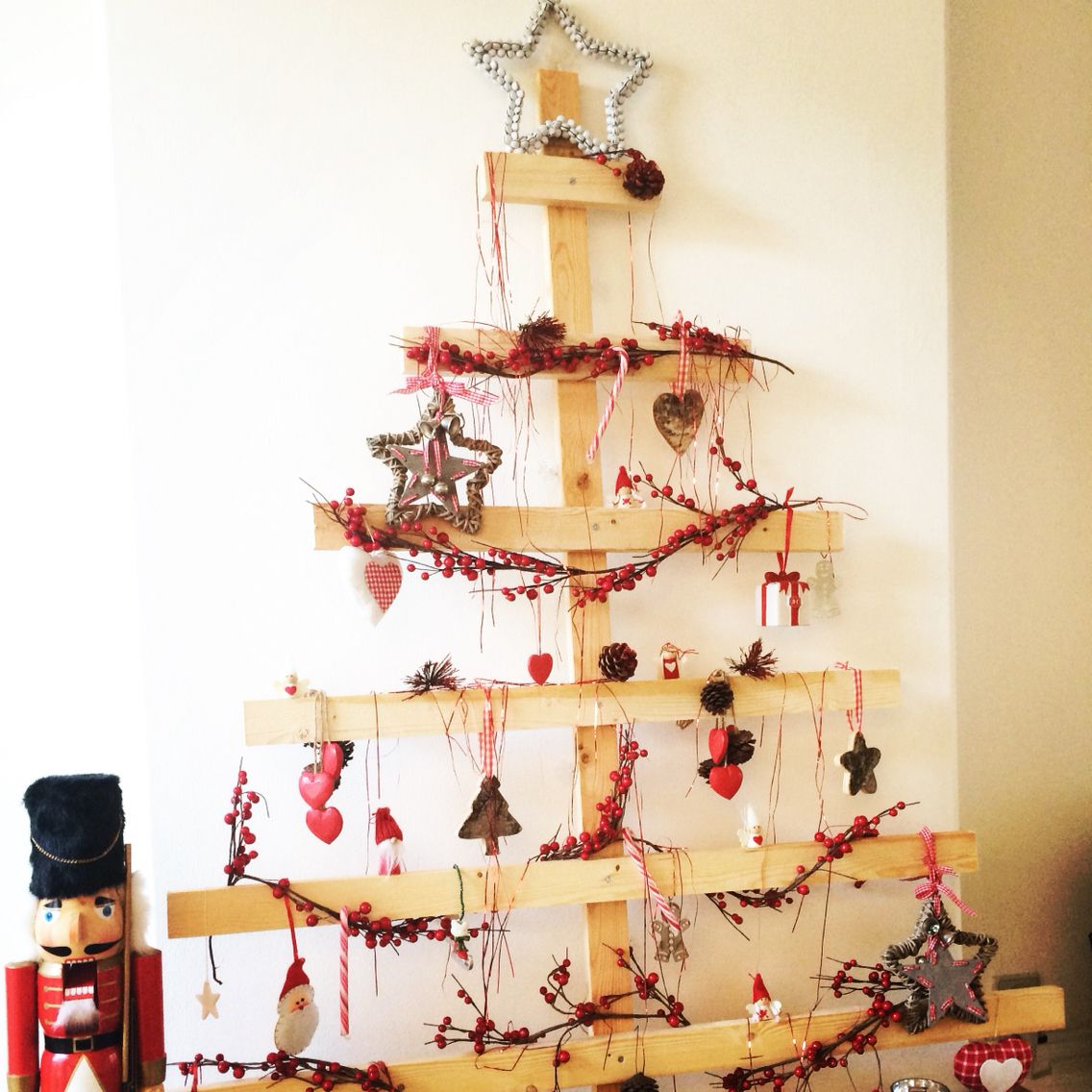 Our handmade 2D Christmas tree