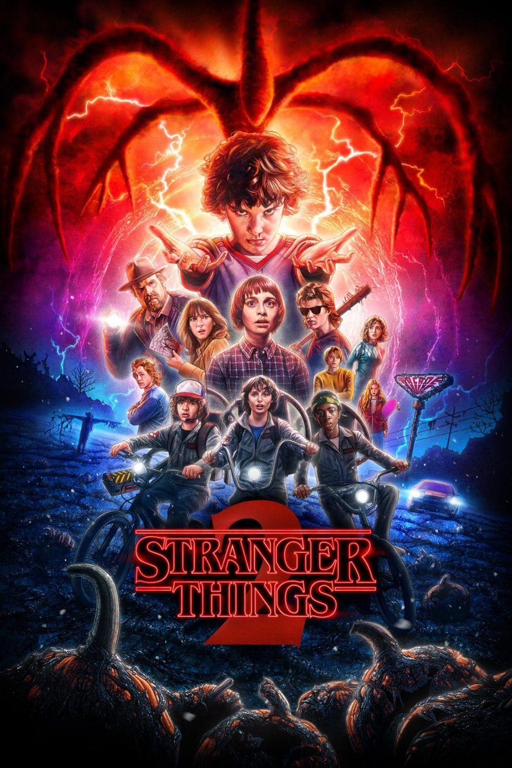 Stranger Things Streaming Film E Serie Tv In Altadefinizione Hd Film Di Netflix Sfondi Sfondi Iphone