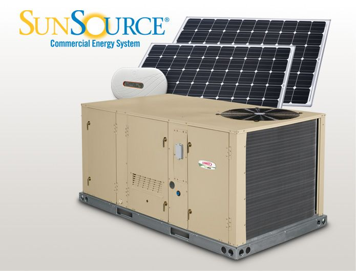 Sunsource Commercial Energy System Solar Ready Hvac Hvac Energy System Energy Efficiency