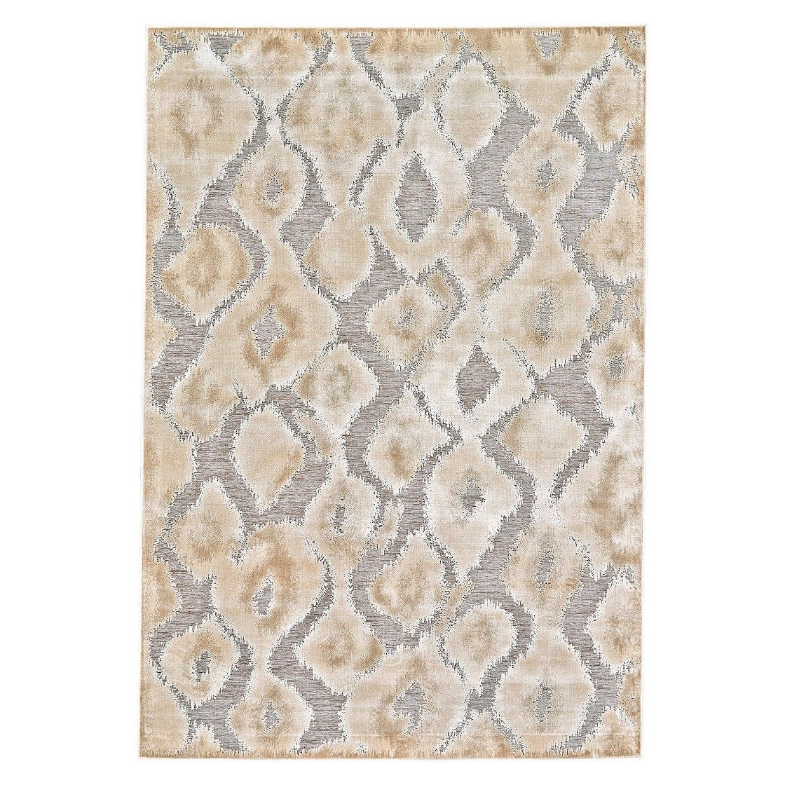 7 6 Quot X10 6 Quot Animal Print Woven Area Rugs Pewter Dark Gray