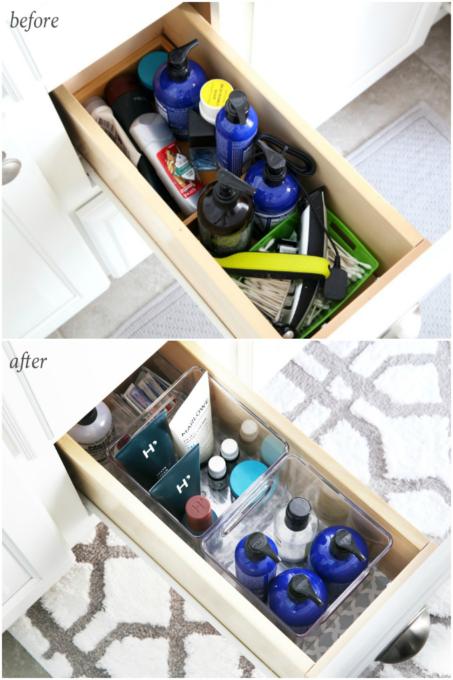 Master Bathroom Organization Ideas And Updates Bathroom Vanity Drawers Bathroom Vanity Organization Diy Bathroom Storage