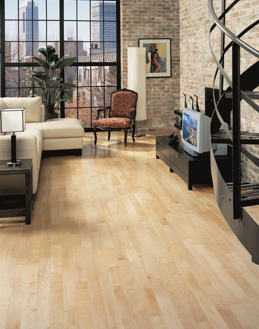 Innovative Maple Natural Hardwood Flooring With Bay Area
