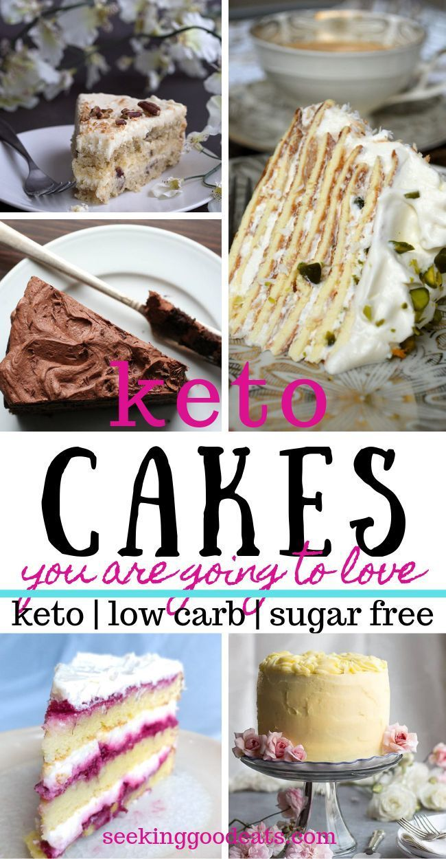 Low Carb and Keto Cake Recipes