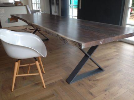 Esstisch Designtisch Massivholztisch Baumstammtisch auf Maß in - ebay gebrauchte k chen
