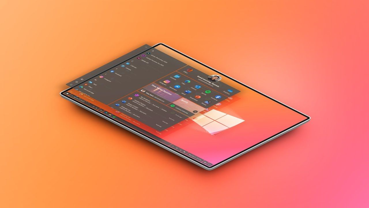 Re Imagining The Windows Experience Https Www Youtube Com Watch V 8kmywvnmjwq A Personal Project Of Mine In Designing A In 2020 User Interface Imagine Wallpaper App