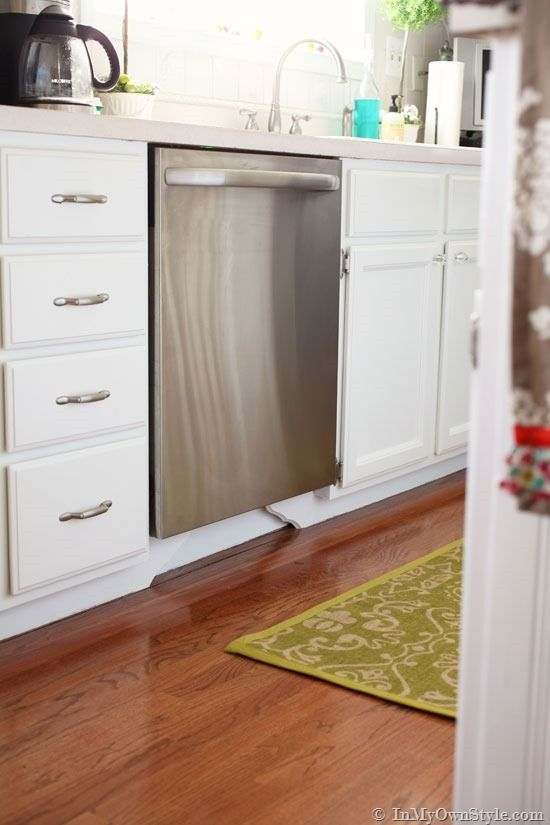 Make Your Own Kitchen Cabinet Feet With Wood