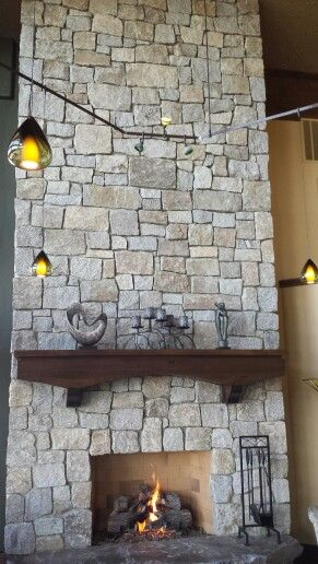 Fireplace with #techlighting Our home Coeur d Alene ID