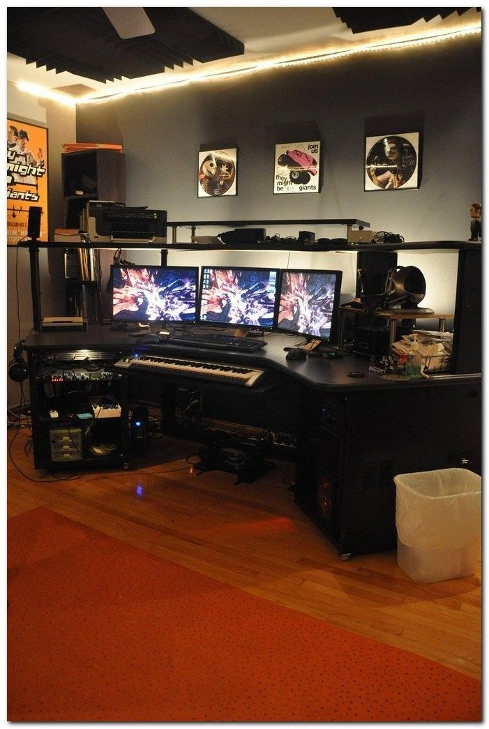 It is a room that can take on a multitude of decors, as long as, the overall feel of the room is restful and welco. Interior Design Ideas for Gamers (58) | Game room, Game ...