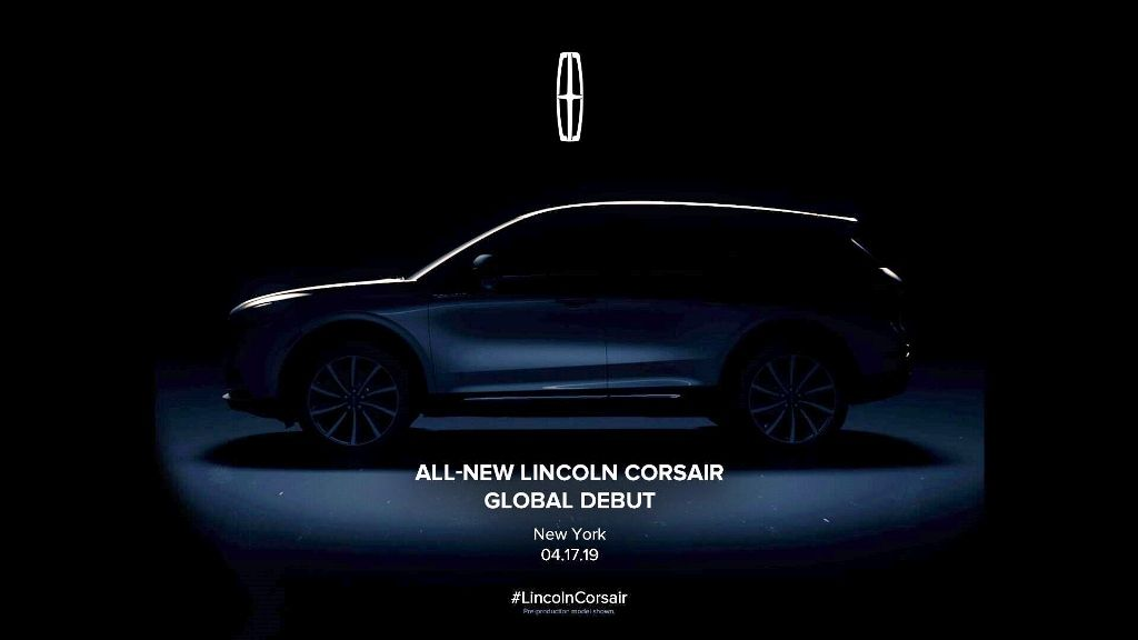 New York International Auto Show 2020.The All New 2020 Lincolncorsair Making Its Debut Soon At