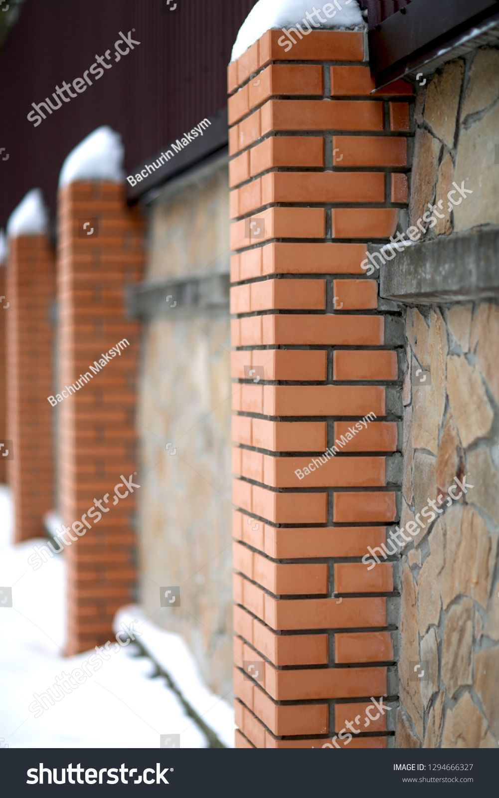 Construction And Materials Stone Wall House Industry Security