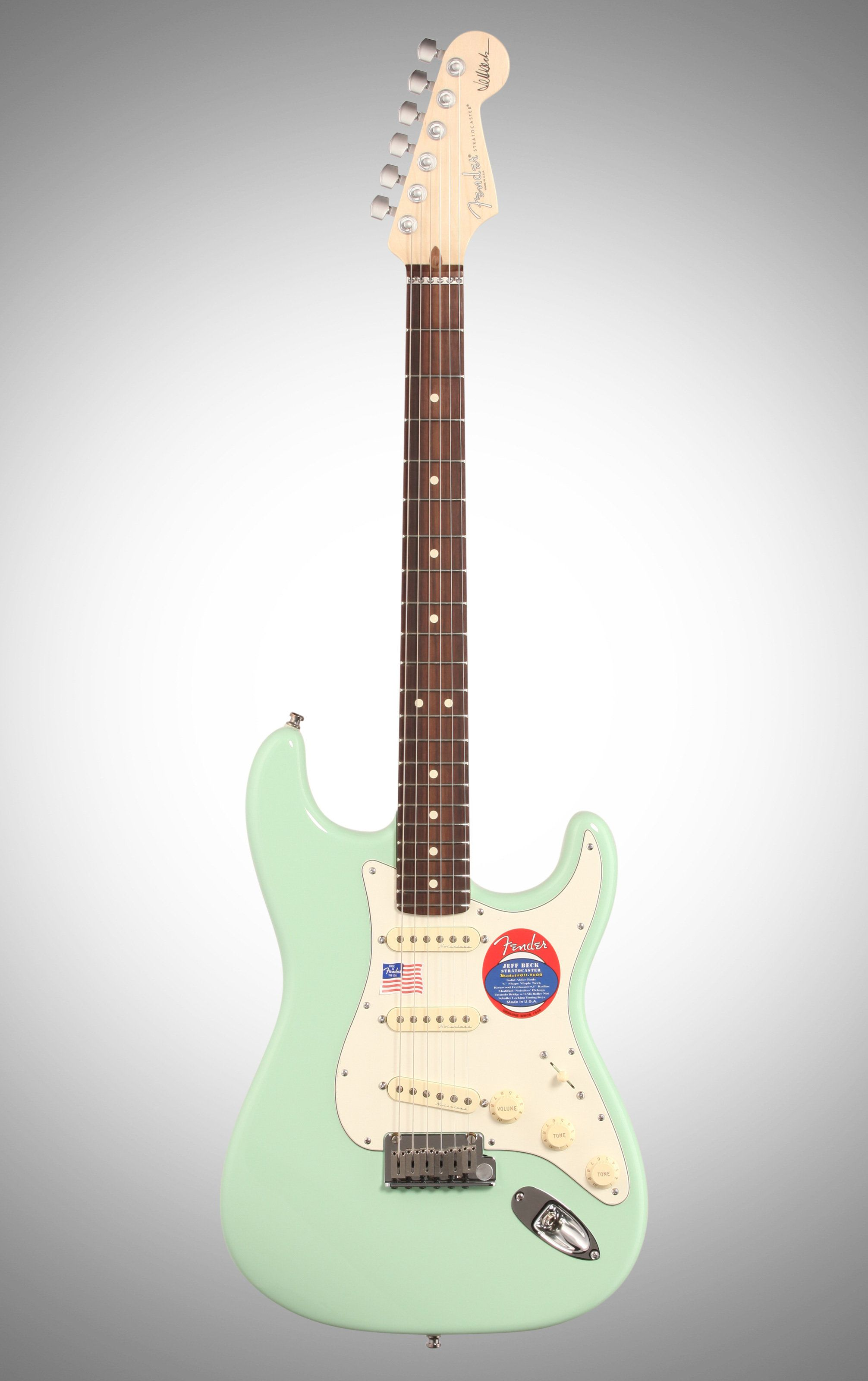 [SCHEMATICS_48EU]  Fender Jeff Beck Stratocaster Electric Guitar (with Case), Surf Green | Fender Jeff Beck Stratocaster Wiring Diagram |  | Pinterest