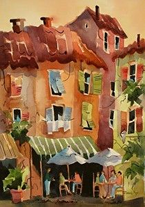 Camogli Cafe   Come What May... by Jinnie May